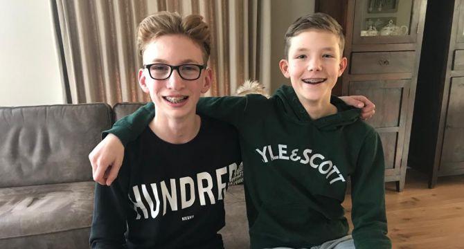 Bram Dortmans en Wessel van Dinther