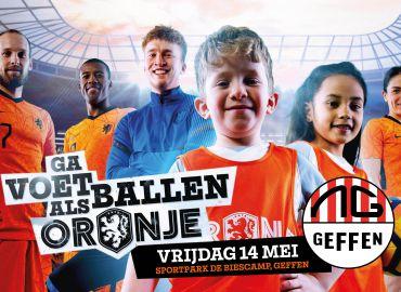 Oranjefestival: ga voetballen als Oranje!