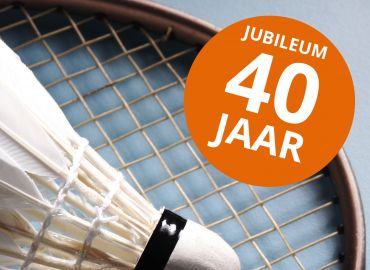 Badmintonclub Geffen 40 jaar